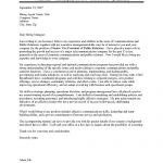 Public Relations Executive Cover Letter Sample