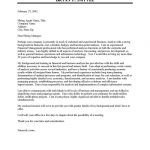 Analyst Cover Letter Sample