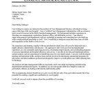 Case Management Executive Cover Letter Sample