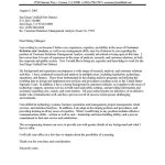 City Manager Cover Letter Sample