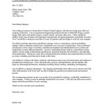 Engineer Cover Letter Sample