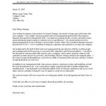 Hotel General Manager Cover Letter Sample