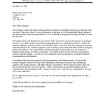 Junior Attorney Cover Letter Sample