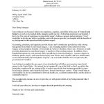 Medical Internship Cover Letter