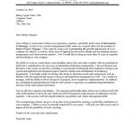 Senior IT Project Manager Cover Letter Sample